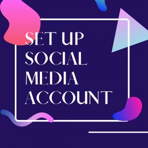 Midcoast Digital Studio Services: Set up Social Media Account
