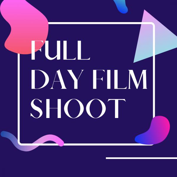 Midcoast Digital Studio Services: Full Day Film Shoot (in Studio or On Location)